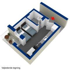 Отель ApartHotel Faber 3* Студия разные типы кроватей фото 2