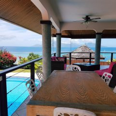 Отель Te Tavake by Tahiti Homes Французская Полинезия, Пунаауиа - отзывы, цены и фото номеров - забронировать отель Te Tavake by Tahiti Homes онлайн балкон