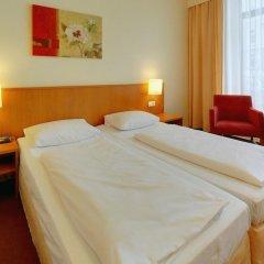 Hotel Residence am Hauptbahnhof 3* Стандартный номер с различными типами кроватей фото 5