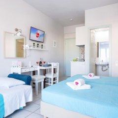 Отель Ilios Studios Stalis Студия с различными типами кроватей фото 27