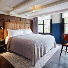 Отель The Hoxton, Amsterdam 4* Номер Делюкс с различными типами кроватей фото 7