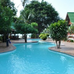 Отель Charm Beach Resort 3* Бунгало с различными типами кроватей фото 7