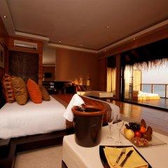 Отель Adaaran Prestige Vadoo 5* Вилла с различными типами кроватей фото 5