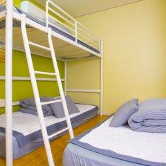 KW Hongdae Hostel Номер категории Эконом с различными типами кроватей фото 2