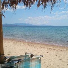 Отель Villa Askamnia Deluxe Греция, Метаморфоси - отзывы, цены и фото номеров - забронировать отель Villa Askamnia Deluxe онлайн пляж фото 2
