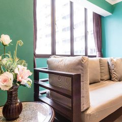Отель Omni Tower Syncate Suites 4* Улучшенные апартаменты фото 2