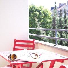 Отель Frederics München City Schwabing балкон
