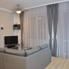 Отель Bajkowy Gdańsk Улучшенные апартаменты с различными типами кроватей фото 32