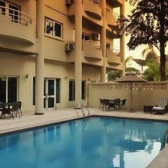 Апартаменты Park Inn By Radisson Serviced Apartments Лагос бассейн