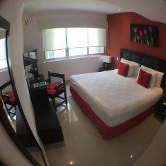 Отель Suites Malecon Cancun Стандартный номер с различными типами кроватей фото 11