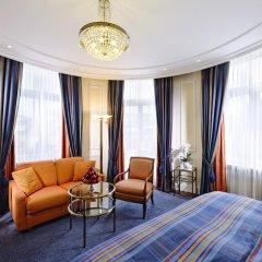 Отель Schweizerhof Zürich 4* Номер Делюкс с различными типами кроватей