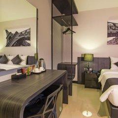 Отель The Rich Sotel 3* Номер Делюкс с различными типами кроватей фото 8