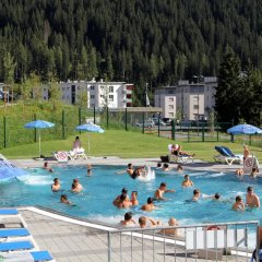 Отель Kongress Hotel Davos Швейцария, Давос - отзывы, цены и фото номеров - забронировать отель Kongress Hotel Davos онлайн бассейн