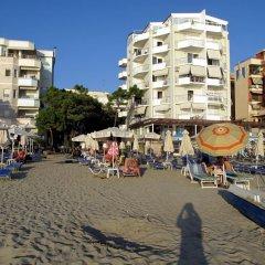 Отель Arberia Албания, Голем - отзывы, цены и фото номеров - забронировать отель Arberia онлайн пляж фото 2