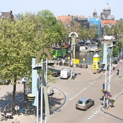 Отель Nieuwmarkt Penthouse Нидерланды, Амстердам - отзывы, цены и фото номеров - забронировать отель Nieuwmarkt Penthouse онлайн балкон