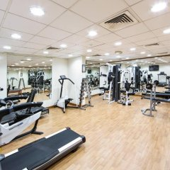 Отель Rolla Residence Hotel Apartment ОАЭ, Дубай - отзывы, цены и фото номеров - забронировать отель Rolla Residence Hotel Apartment онлайн фитнесс-зал фото 3