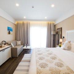 Отель Thassos Grand Resort комната для гостей фото 2
