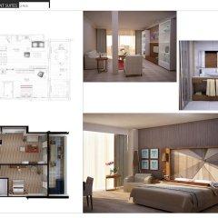 Отель Nirvana Lagoon Villas Suites & Spa 5* Люкс повышенной комфортности с различными типами кроватей фото 12