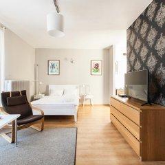 Отель Apartment4you Wilcza Студия с различными типами кроватей фото 10
