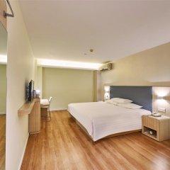 Отель Hanting Hotel Beijing Xidan Shopping Mall Branch Китай, Пекин - отзывы, цены и фото номеров - забронировать отель Hanting Hotel Beijing Xidan Shopping Mall Branch онлайн комната для гостей фото 3