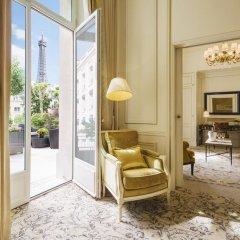 Shangri-La Hotel Paris 5* Улучшенный номер с различными типами кроватей фото 5