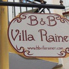 Отель B&B Villa Raineri 3* Стандартный номер фото 11