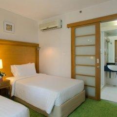 Отель At Ease Saladaeng 4* Номер Делюкс с различными типами кроватей фото 6