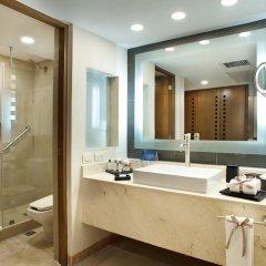 Отель Grand Park Royal Luxury Resort Cancun Caribe Мексика, Канкун - 3 отзыва об отеле, цены и фото номеров - забронировать отель Grand Park Royal Luxury Resort Cancun Caribe онлайн ванная фото 2