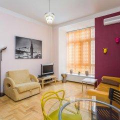 Апартаменты Four Squares Apartments on Tverskaya Апартаменты с двуспальной кроватью фото 28