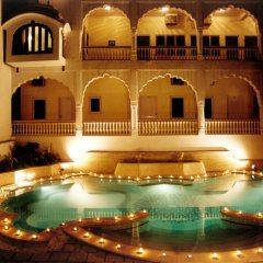Отель Mandawa Haveli бассейн