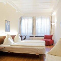 Отель Goldener Schlüssel 3* Стандартный номер с различными типами кроватей фото 8