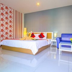 Отель Sea Breeze Jomtien Residence 3* Номер Делюкс с различными типами кроватей фото 2