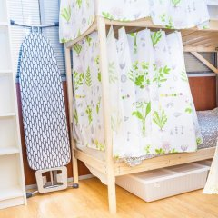 Гостиница Hostels Rus Golovinskiy Кровать в общем номере с двухъярусной кроватью фото 6