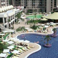 Отель Menada Apartments in Royal Beach Болгария, Солнечный берег - отзывы, цены и фото номеров - забронировать отель Menada Apartments in Royal Beach онлайн бассейн