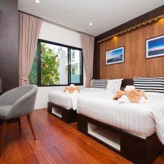 Отель Simple Life Cliff View Resort 3* Стандартный семейный номер с различными типами кроватей фото 9