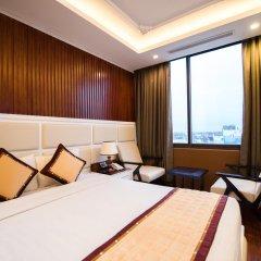 Hanoi HM Boutique Hotel 3* Представительский номер с различными типами кроватей фото 7