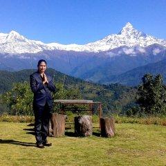 Отель Himalayan Deurali Resort Непал, Лехнат - отзывы, цены и фото номеров - забронировать отель Himalayan Deurali Resort онлайн спортивное сооружение