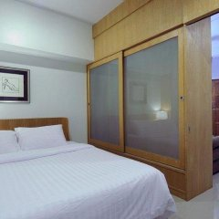 Отель Ratchadamnoen Residence 3* Улучшенные апартаменты с двуспальной кроватью фото 2