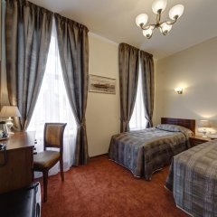 Мини-отель Соната на Невском 5 Номер Комфорт разные типы кроватей фото 22