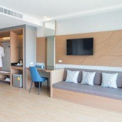 Отель AVA Sea Resort 4* Улучшенный номер с различными типами кроватей фото 2