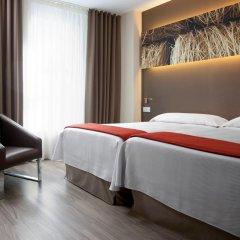 Отель NH Barcelona Diagonal Center 3* Стандартный номер с различными типами кроватей фото 3