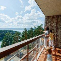 Гостиница Золотой пляж в Миассе 4 отзыва об отеле, цены и фото номеров - забронировать гостиницу Золотой пляж онлайн Миасс балкон