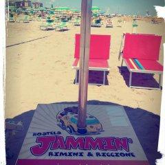 Jammin' Rimini Backpackers Hotel Римини пляж