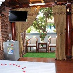 Отель Seaside An Bang Homestay 2* Улучшенный номер с различными типами кроватей фото 6