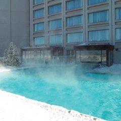 Отель Hilton Québec Канада, Квебек - отзывы, цены и фото номеров - забронировать отель Hilton Québec онлайн бассейн фото 3