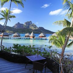 Отель Sofitel Bora Bora Private Island пляж фото 3