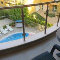 Отель Aparthotel Aquaria Болгария, Солнечный берег - отзывы, цены и фото номеров - забронировать отель Aparthotel Aquaria онлайн балкон