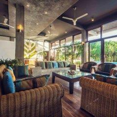 Отель Amba Ayurveda Boutique Hotel Шри-Ланка, Пляж Golden Mile - отзывы, цены и фото номеров - забронировать отель Amba Ayurveda Boutique Hotel онлайн интерьер отеля фото 3