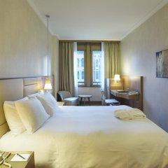 Отель Hilton Milan 4* Номер Делюкс с различными типами кроватей фото 12