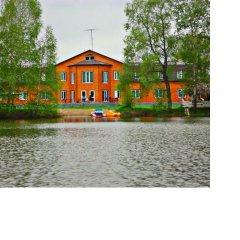 Гостиница Stolitsa Mira в Озерках отзывы, цены и фото номеров - забронировать гостиницу Stolitsa Mira онлайн Озерки приотельная территория фото 2